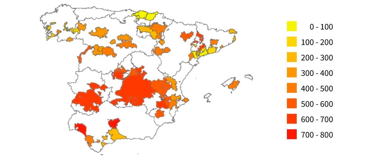 Cambio climatico afecta a temperaturas en Esapaña